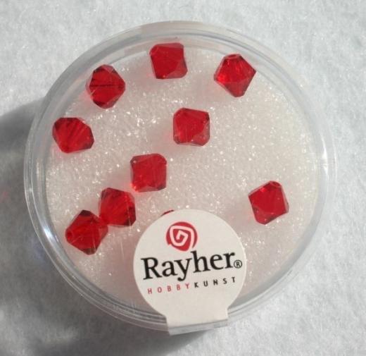 Swarovski Kristall-Schliffperlen 6mm 12St klassikrot (Restbestand)