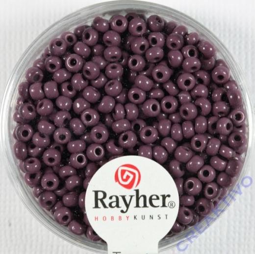 Rocailles 2,6mm ø opak lila