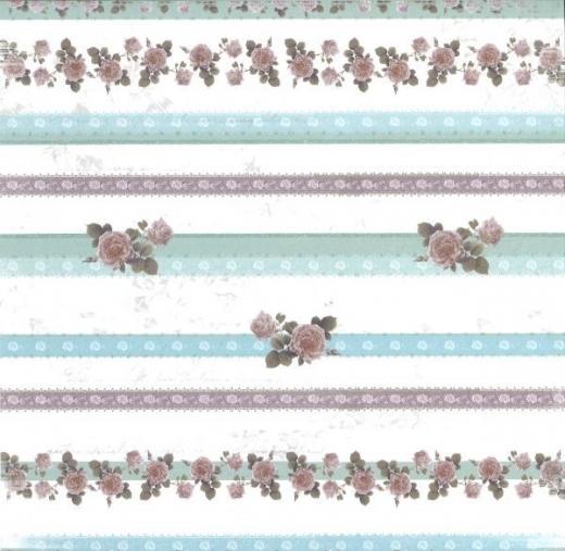 Premium Glitter Scrapbook paper Romantik 42