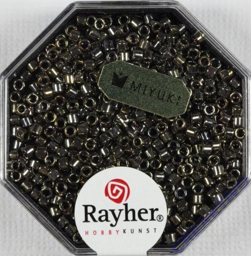 Delica-Rocailles, 2,2 mm ø metallic brill.bronze