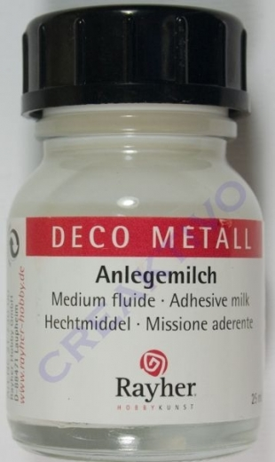 Rayher Deco Metall Anlegemilch 25ml