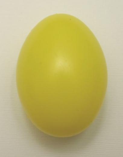 Plastik-Ei 6cm gelb