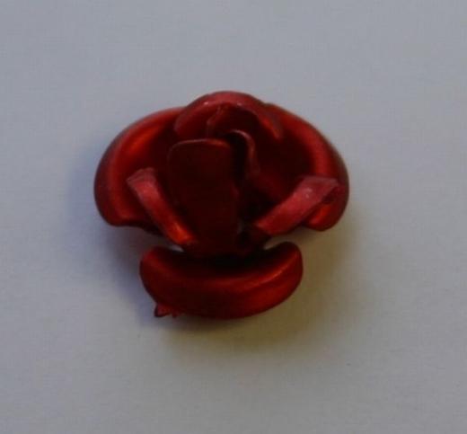 Behang Rose rot ca. 7mm