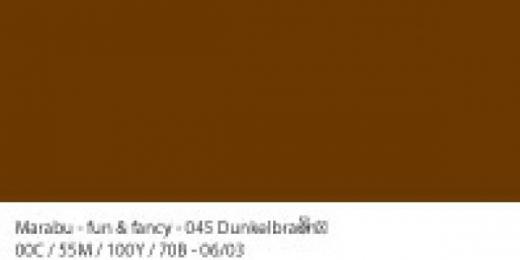 Marabu Fun & Fancy Window Color 80ml dunkelbraun