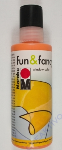 Marabu Fun & Fancy Window Color 80ml orange