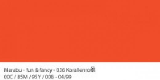Marabu Fun & Fancy Window Color 80ml korallenrot (Restbestand)