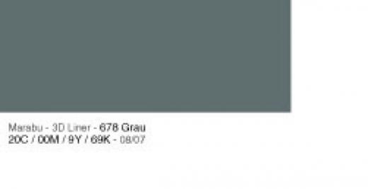 Marabu 3D Liner 25ml grau