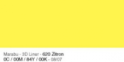 Marabu 3D Liner 25ml zitron