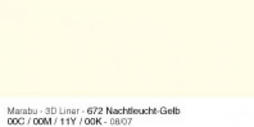 Marabu 3D Liner 25ml nachtleucht-gelb