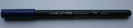 Edding 1255 Calligraphy Pen 3.5 blau