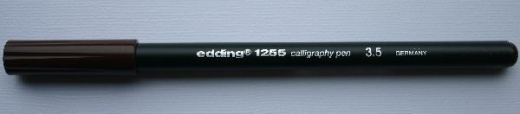 Edding 1255 Calligraphy Pen 3.5 braun