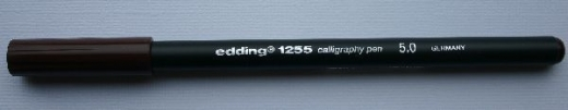Edding 1255 Calligraphy Pen 5.0 braun
