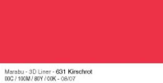 Marabu 3D Liner 25ml kirschrot