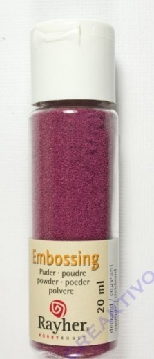 Embossing-Puder 20ml bordeaux, deckend