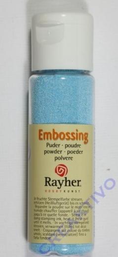 Embossing-Puder 20ml hellblau, deckend