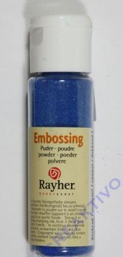 Embossing-Puder 20ml royalblau, deckend