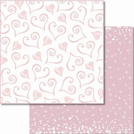 Premium Glitter Scrapbook paper Hochzeit 36