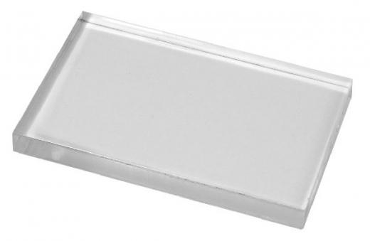 Rayher Acryl-Stempelblock 5x8cm 8mm stark