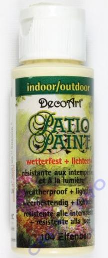 Rayher Patio Paint 59ml elfenbein