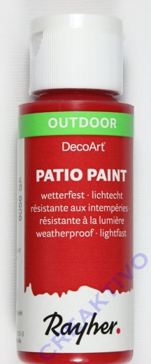 Rayher Patio Paint 59ml kirschrot