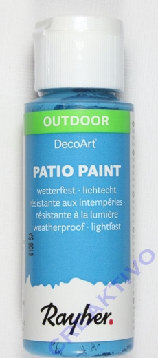 Rayher Patio Paint 59ml ind. türkis