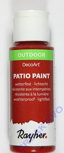 Rayher Patio Paint 59ml klassikrot