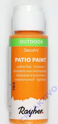 Rayher Patio Paint 59ml mandarine