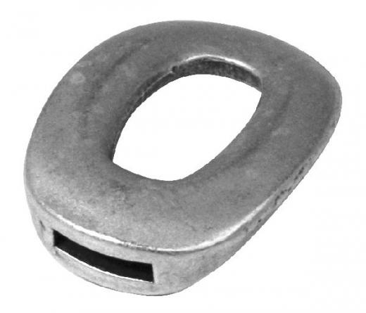 Rockstars Metall-Verschluss-Zierelement 35mm innen 2,5x9mm