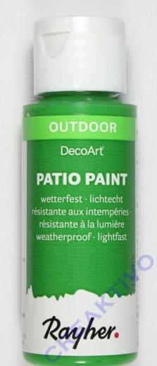 Rayher Patio Paint 59ml immergrün