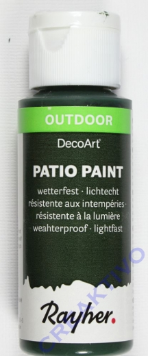 Rayher Patio Paint 59ml schwarzwald
