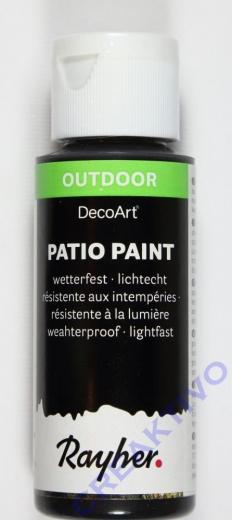 Rayher Patio Paint 59ml schwarz