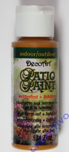Rayher Patio Paint 59ml zimt