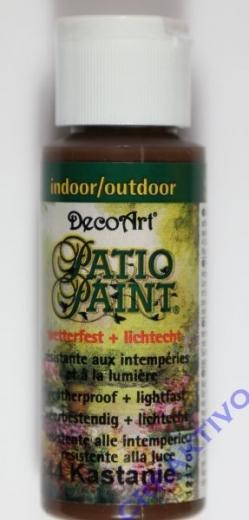 Rayher Patio Paint 59ml kastanie