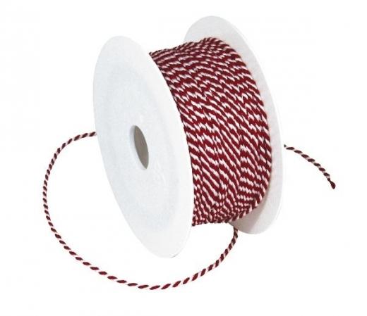Deko-Kordel, zweifarbig, 2 mm, je Meter
