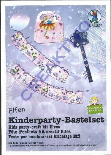 Kinderparty Bastelset Elfen - zum Basteln für 10 Kinder (Restbestand)