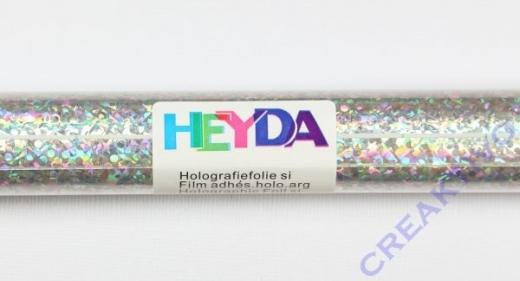 Heyda Holografie-Klebefolie 50x100cm silber