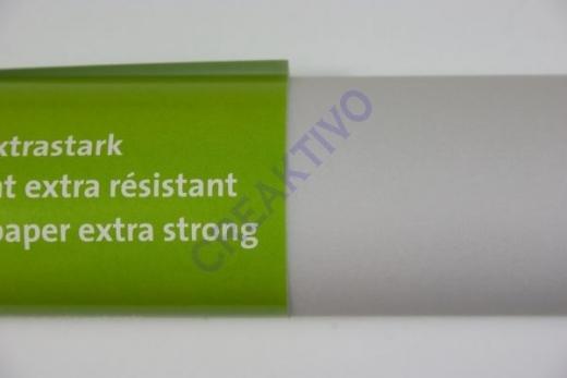 Transparentpapier extra stark Rolle 50x70cm weiß