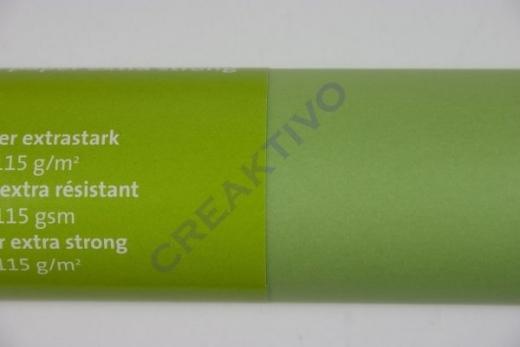 Transparentpapier extra stark Rolle 50x70cm maigrün