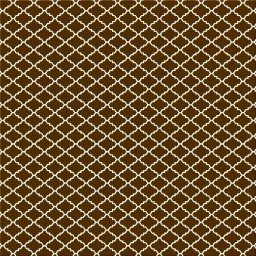 Serie Lush Brown - Brown Diamonds beflockt (Restbestand)