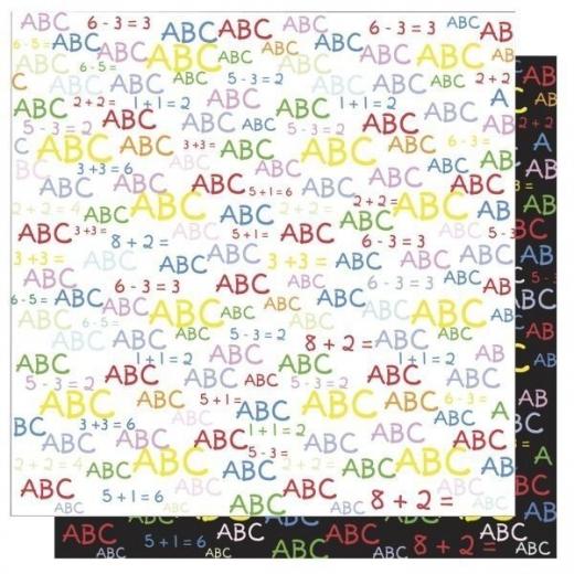 Scrapbooking Papier ABC (Restbestand)