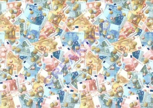 Motiv-Fotokarton 300g/qm 49,5x68cm Geld