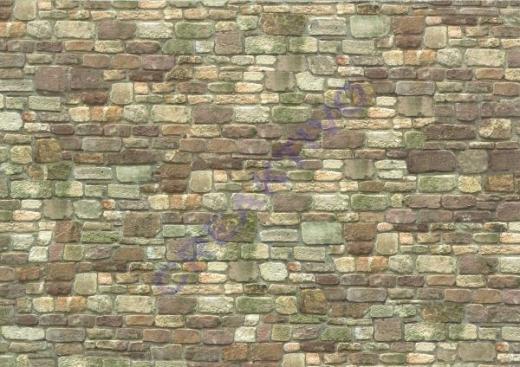 Motiv-Fotokarton 300g/qm 49,5x68cm Mauerwerk