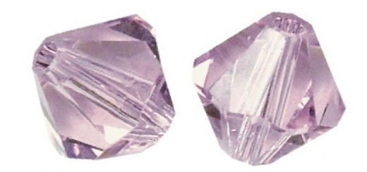 Rayher Swarovski Kristall-Schliffperlen 3mm violett