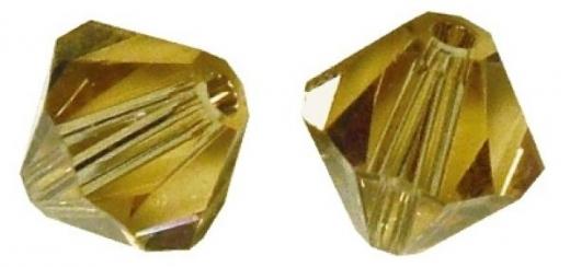 Rayher Swarovski Kristall-Schliffperlen 3mm karamell