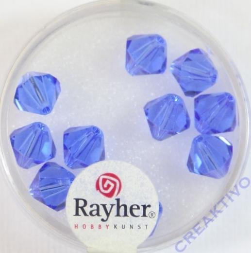 Swarovski Kristall-Schliffperlen 8mm 11St royalblau (Restbestand)