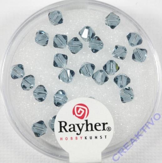Swarovski Kristall-Schliffperlen 4mm 25St rauch topas (Restbestand)