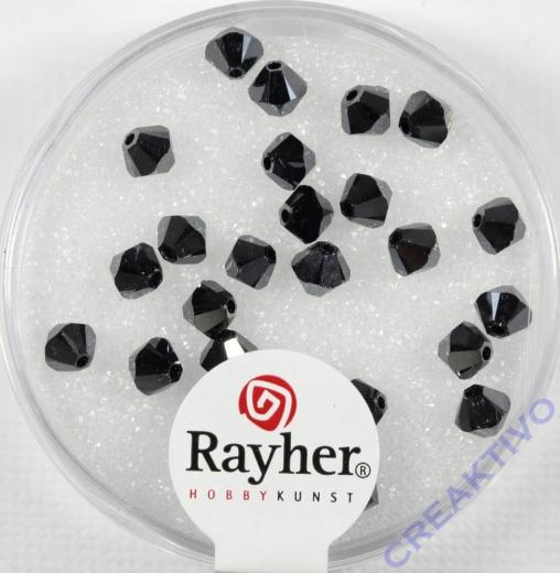 Swarovski Kristall-Schliffperlen 4mm 25St blutstein (Restbestand)