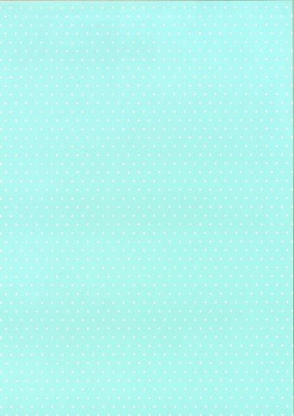 bastelkarton happy papers punkte din a4 hellblau eher mintfarben. Black Bedroom Furniture Sets. Home Design Ideas