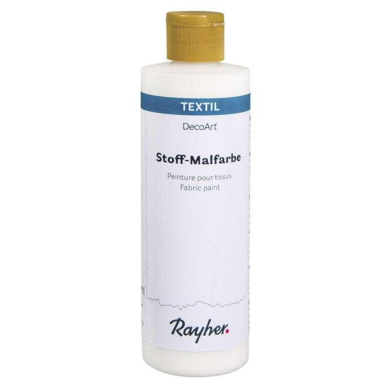 Rayher Stoff-Malfarbe 236ml weiß