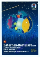 Laternen-Bastelset Fisch
